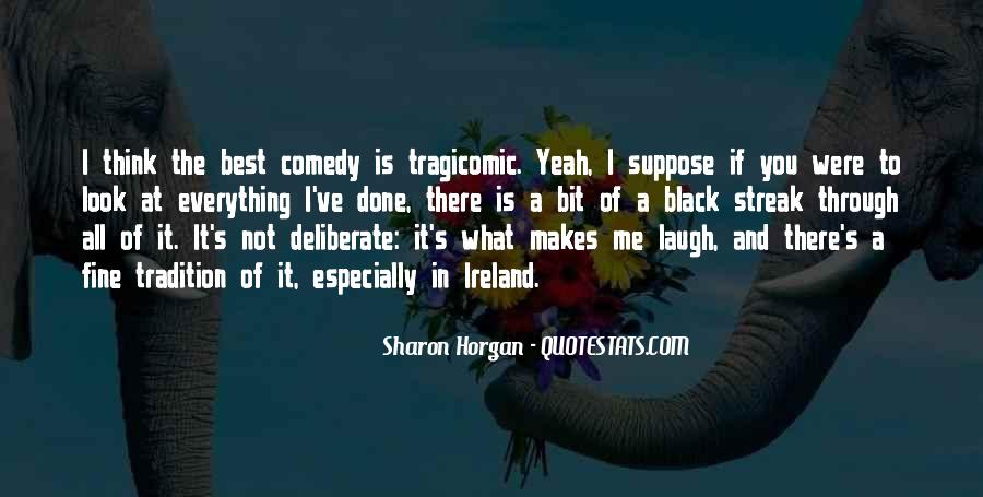 Quotes About Tragicomic #424