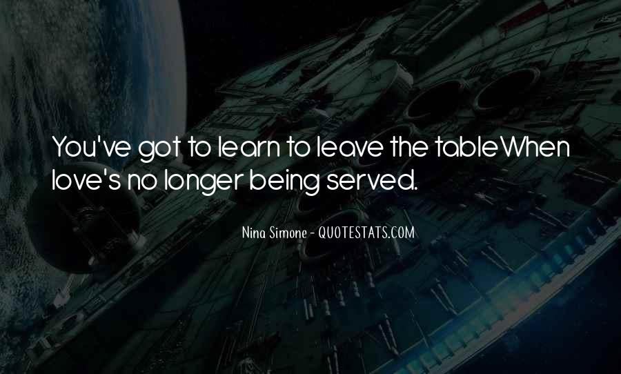 Quotes About Being Served #1124472