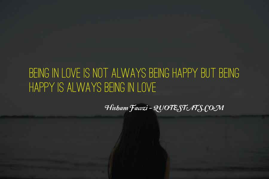 Quotes About Being Happy In Love With Her #252353