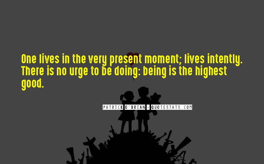 Quotes About Living In The Present Not The Past #110292
