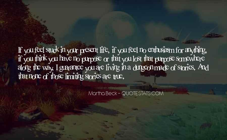 Quotes About Living In The Present Not The Past #173175