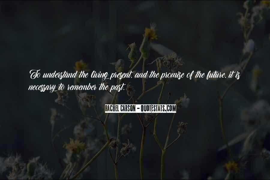 Quotes About Living In The Present Not The Past #187923