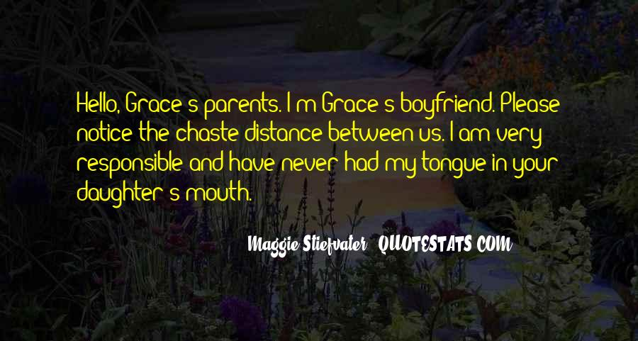 Quotes About Responsible Boyfriend #388980