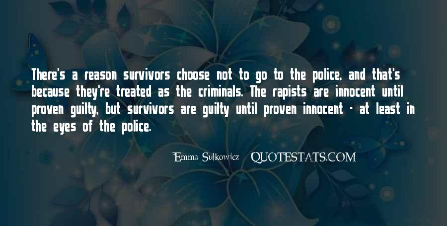 Quotes About Criminals Justice #1052610
