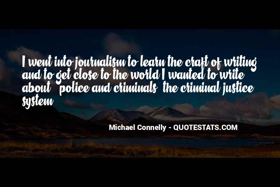 Quotes About Criminals Justice #1425194