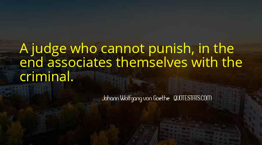 Quotes About Criminals Justice #1695321