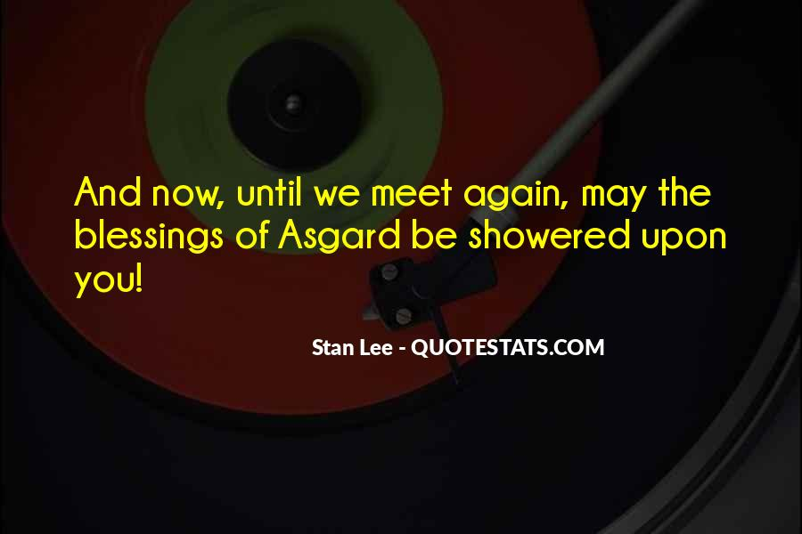 Quotes About Asgard #443876