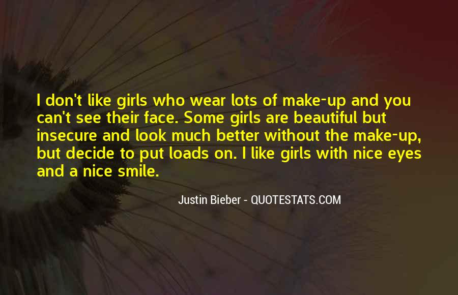Quotes About A Girl Smile #327170