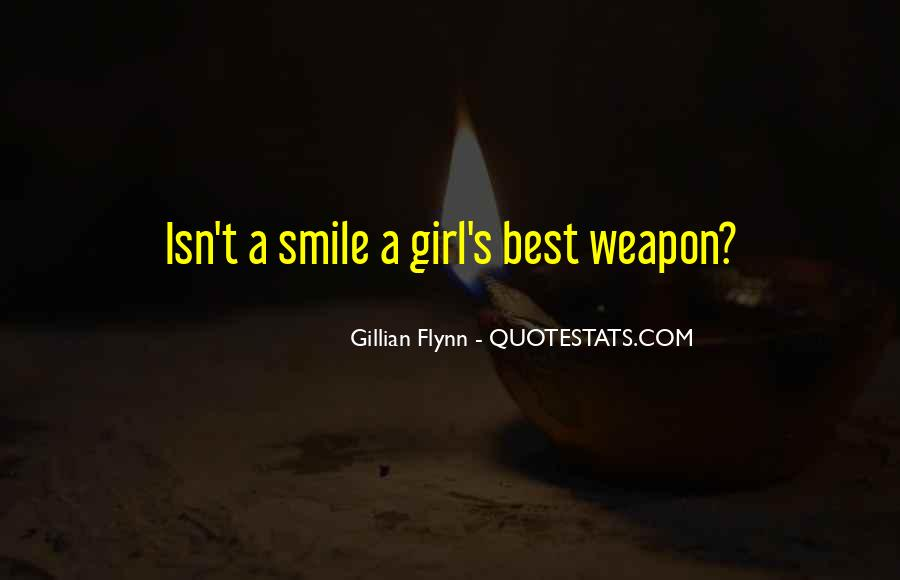 Quotes About A Girl Smile #346964