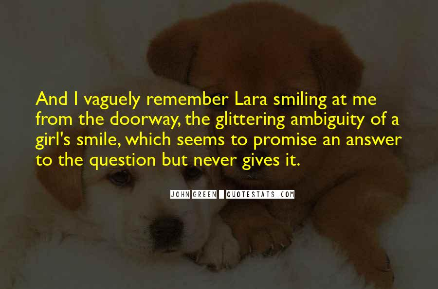 Quotes About A Girl Smile #504954