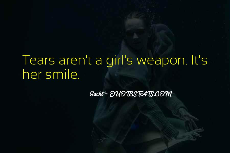 Quotes About A Girl Smile #520132