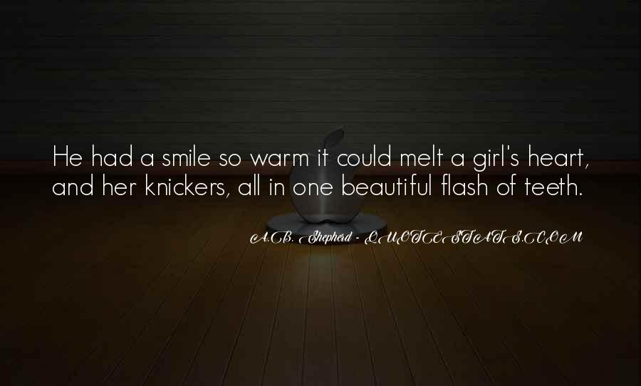 Quotes About A Girl Smile #915993