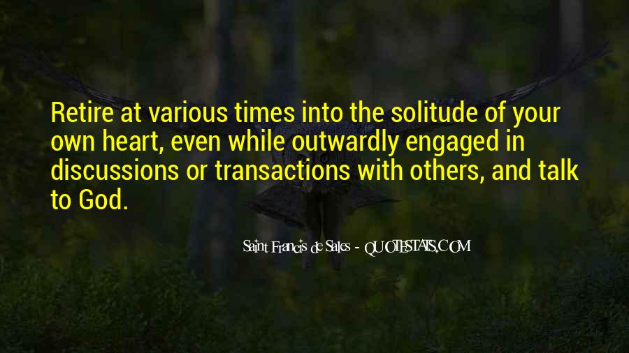Quotes About Solitude With God #1220140