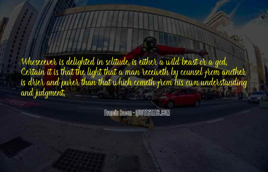 Quotes About Solitude With God #1458482