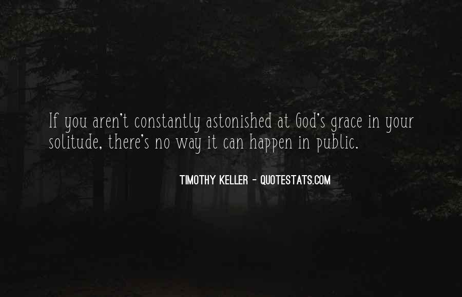 Quotes About Solitude With God #1478107
