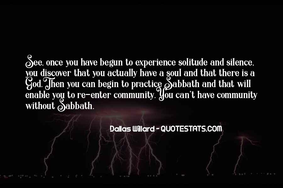 Quotes About Solitude With God #1549157
