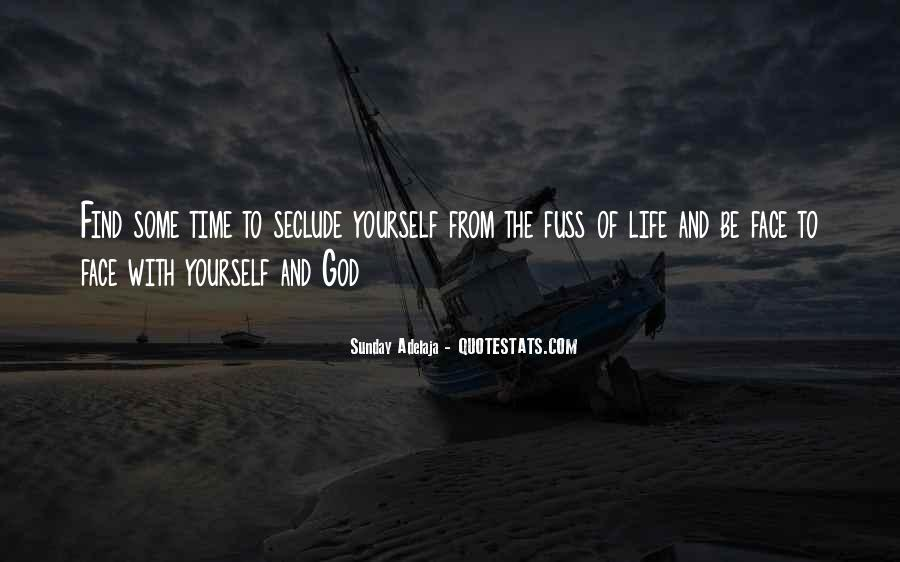 Quotes About Solitude With God #160067