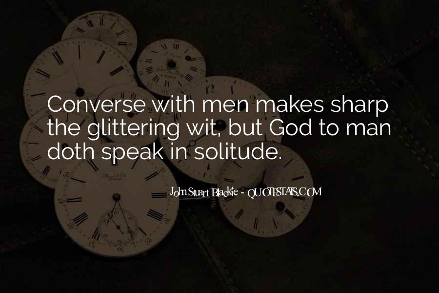 Quotes About Solitude With God #1646457