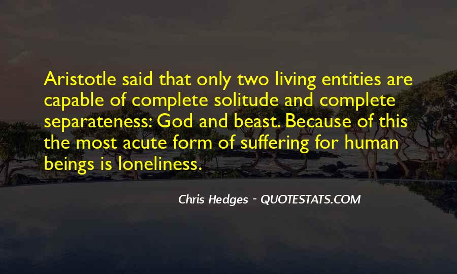 Quotes About Solitude With God #1763184