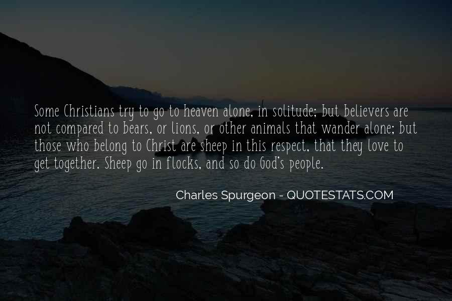 Quotes About Solitude With God #362957
