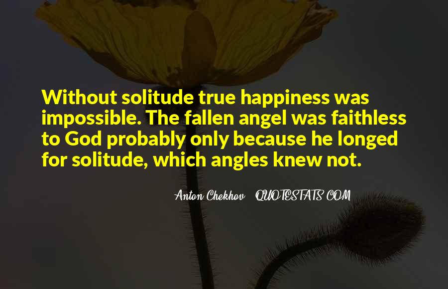 Quotes About Solitude With God #398472