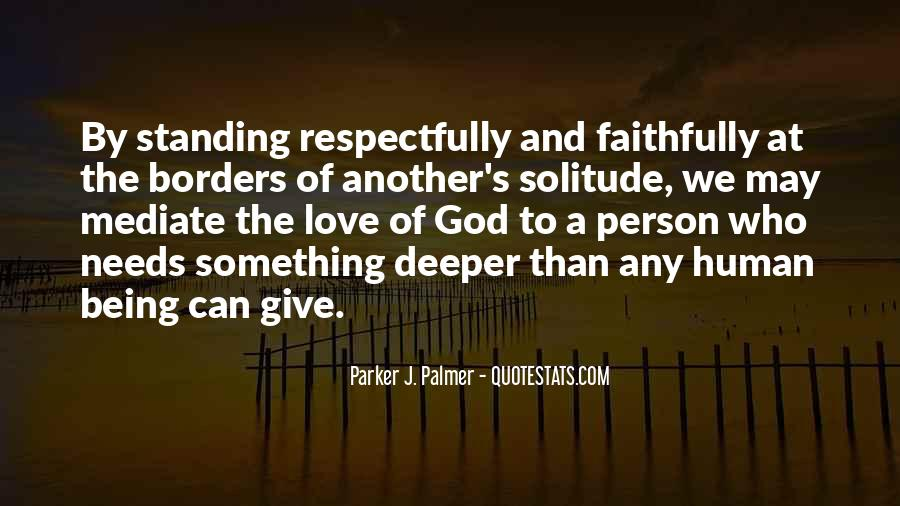 Quotes About Solitude With God #502331