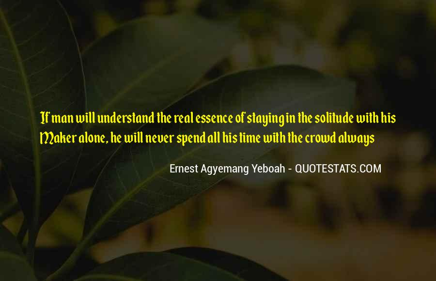 Quotes About Solitude With God #729790