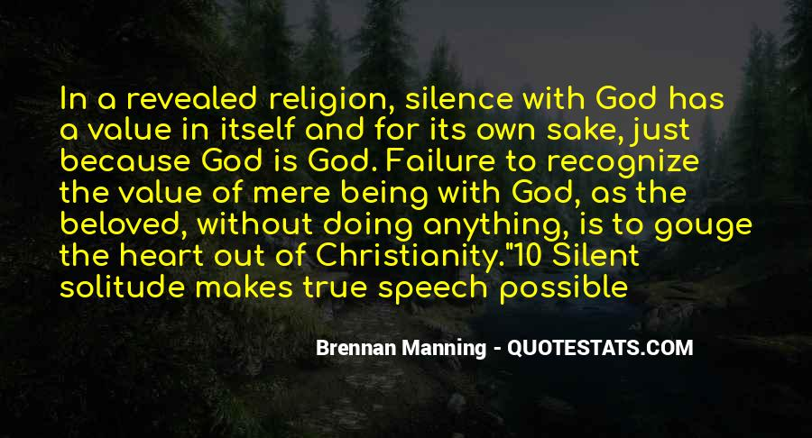 Quotes About Solitude With God #736054