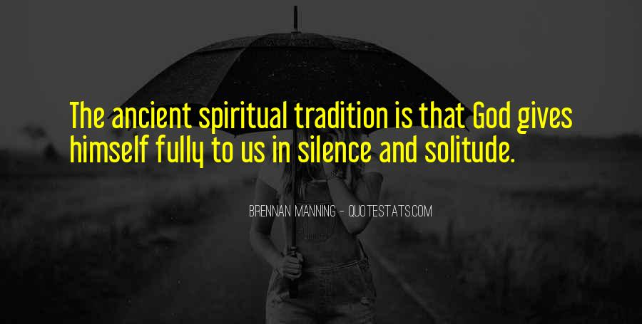 Quotes About Solitude With God #746652