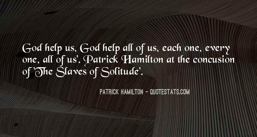 Quotes About Solitude With God #828509