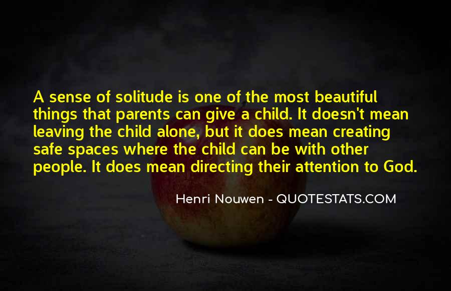 Quotes About Solitude With God #89926