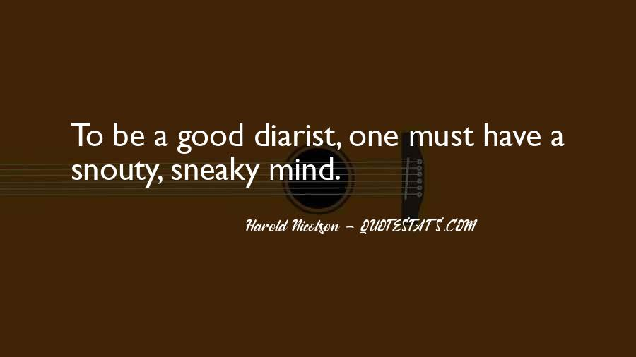 Quotes About Being Sneaky #312768