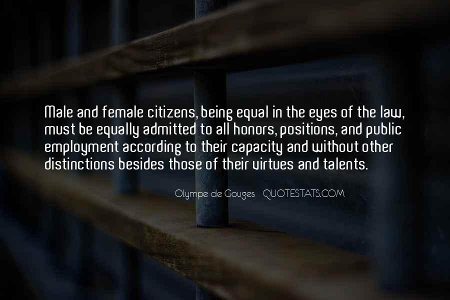 Quotes About Being Equal In God's Eyes #1559833