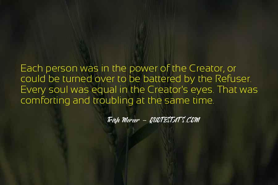 Quotes About Being Equal In God's Eyes #1726060