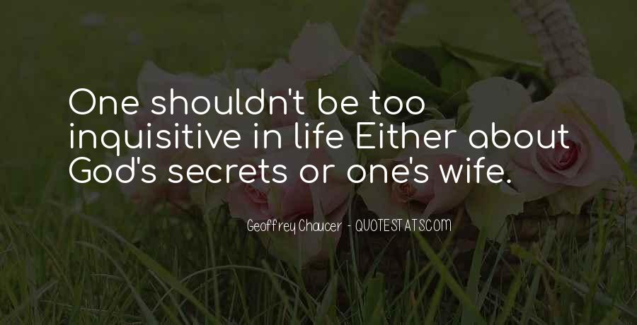 Quotes About Secrets In Marriage #359473