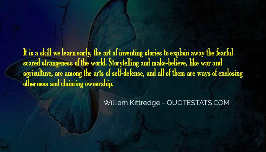 Quotes About Inventing Stories #1459513