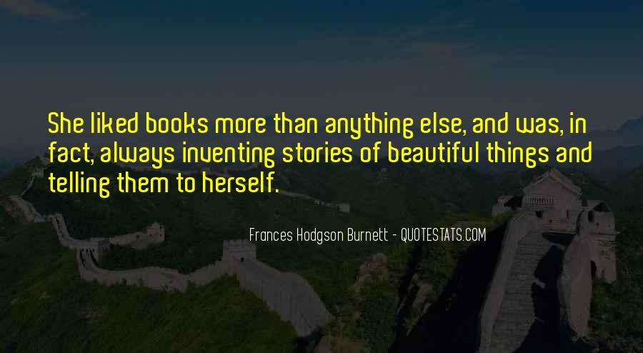 Quotes About Inventing Stories #506361