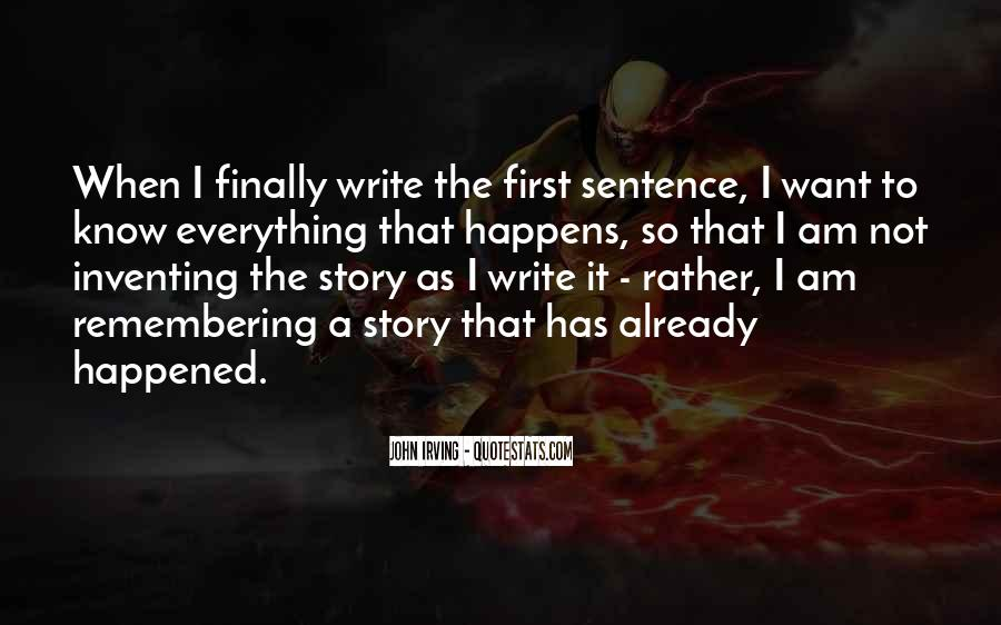 Quotes About Inventing Stories #606246