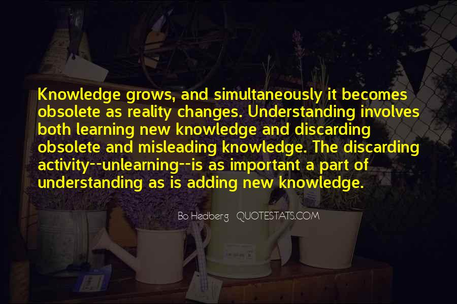 Quotes About Knowledge And Understanding #118809