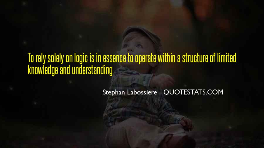 Quotes About Knowledge And Understanding #180947