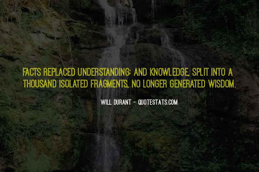 Quotes About Knowledge And Understanding #383383
