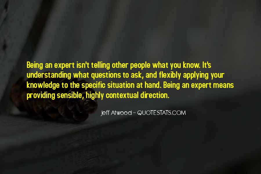 Quotes About Knowledge And Understanding #384133