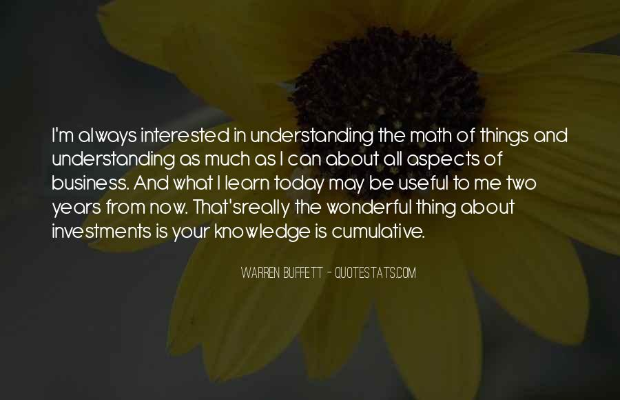Quotes About Knowledge And Understanding #5508
