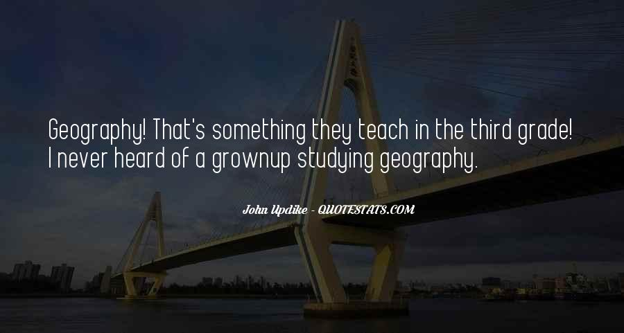 Quotes About Studying Geography #262834