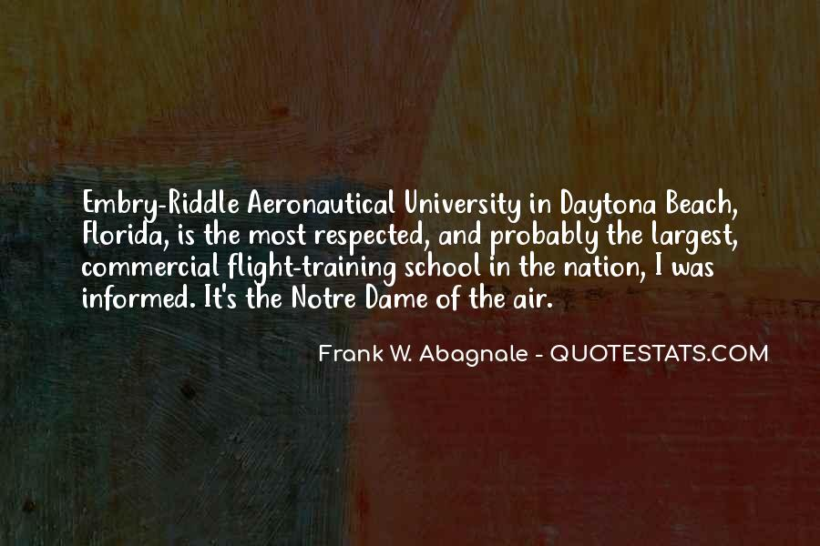 Quotes About Flight #118600