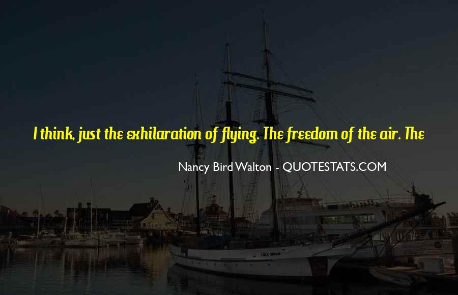 Quotes About Flight #144995