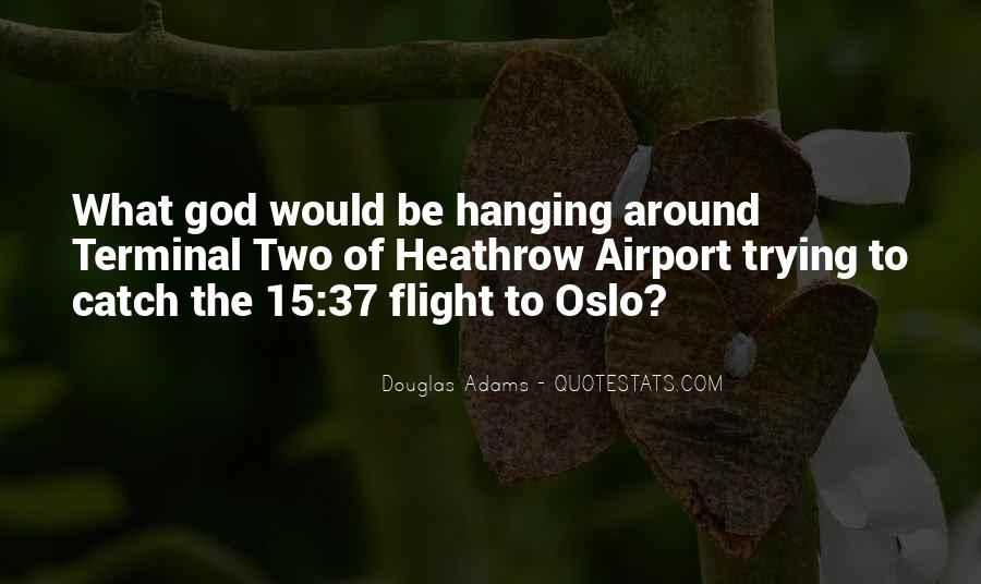 Quotes About Flight #72954