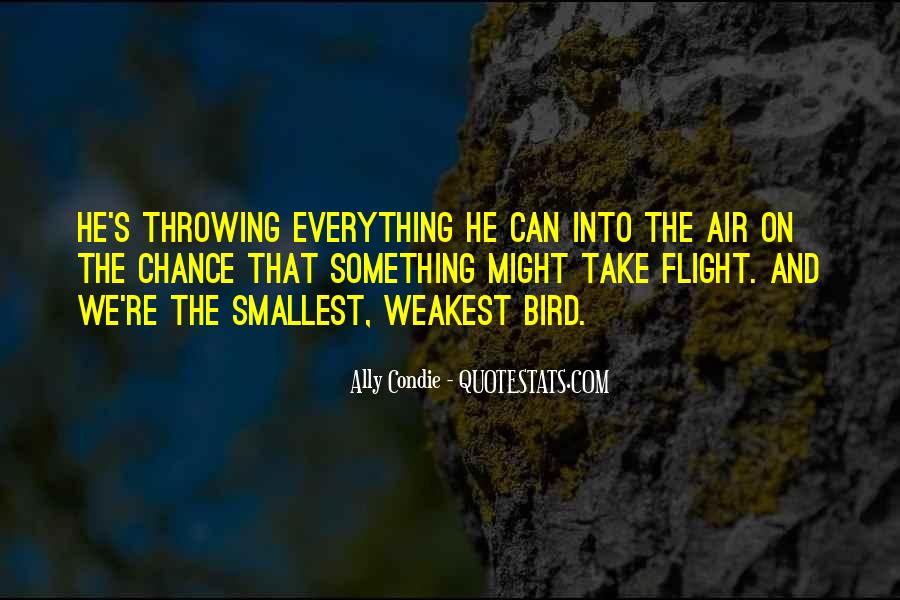 Quotes About Flight #86983