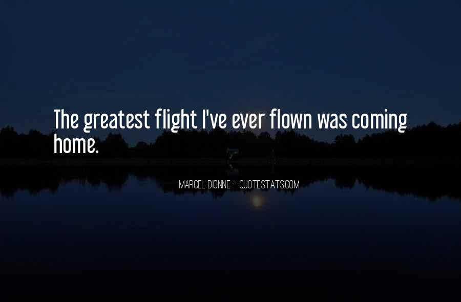 Quotes About Flight #89924