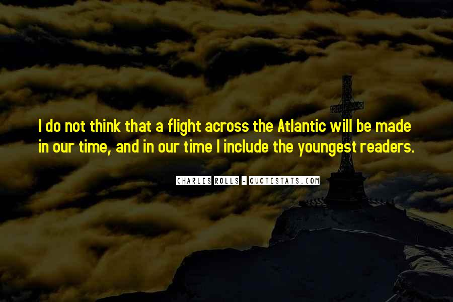 Quotes About Flight #91561